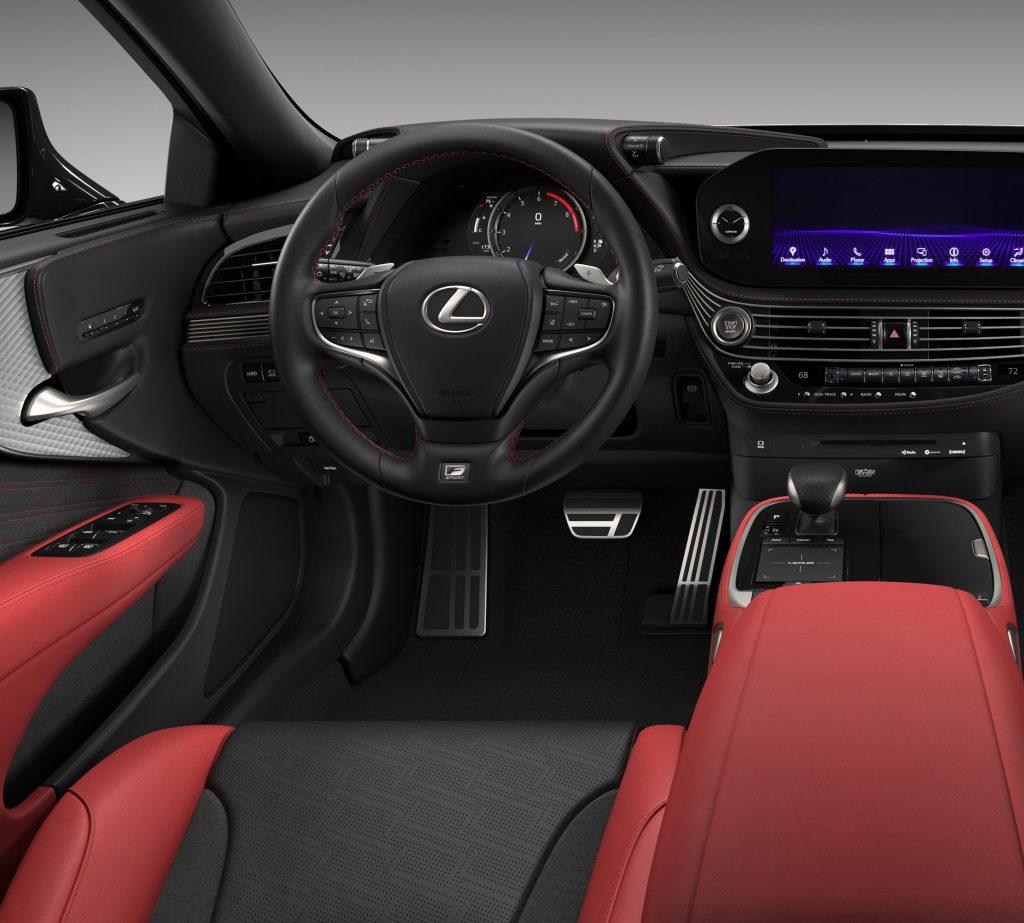 2021 Lexus LS500 F-Sport AWD