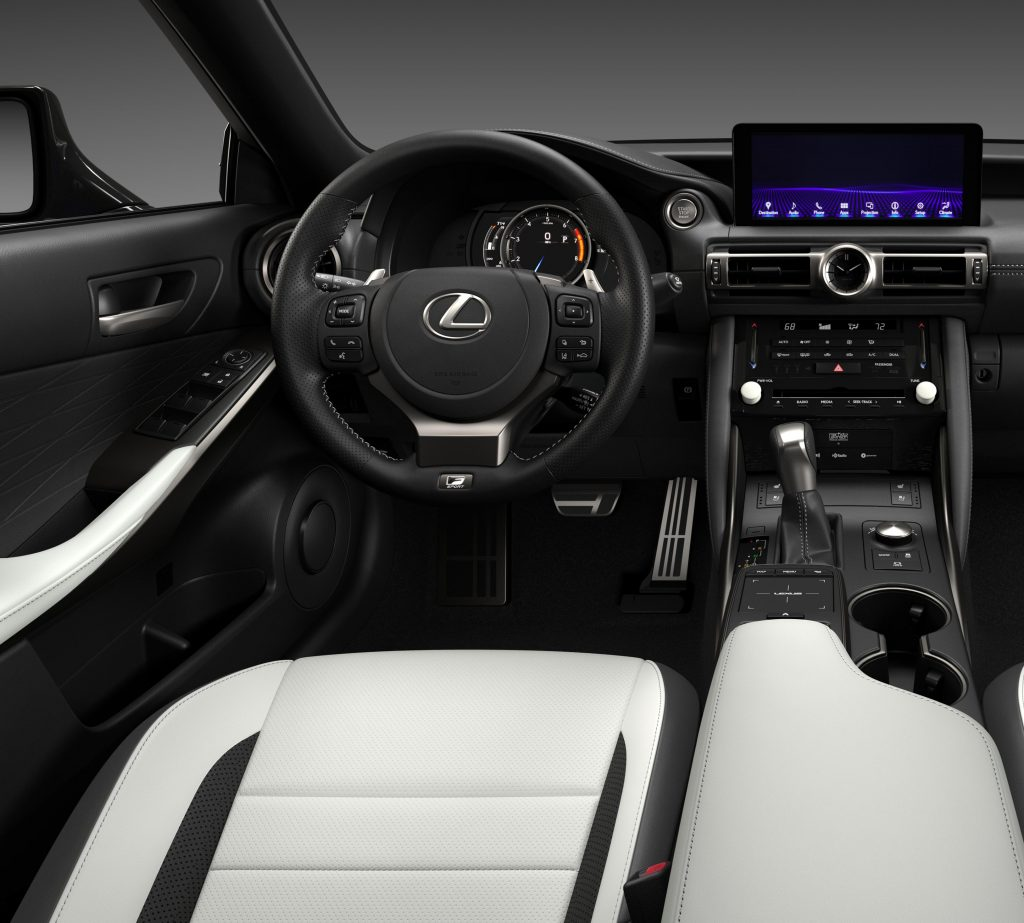 2021 Lexus IS350 F-Sport AWD